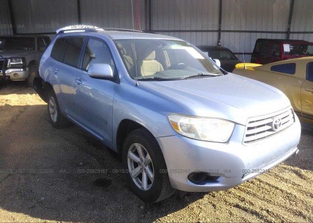Inventory #781931268 2010 Toyota HIGHLANDER