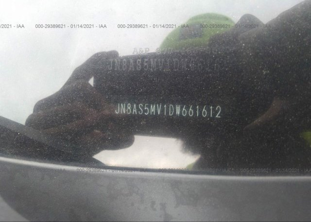 JN8AS5MV1DW661612 2013 NISSAN ROGUE