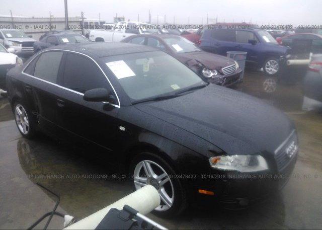 Inventory #255357702 2007 AUDI A4