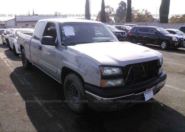 Inventory #447406160 2005 Chevrolet SILVERADO