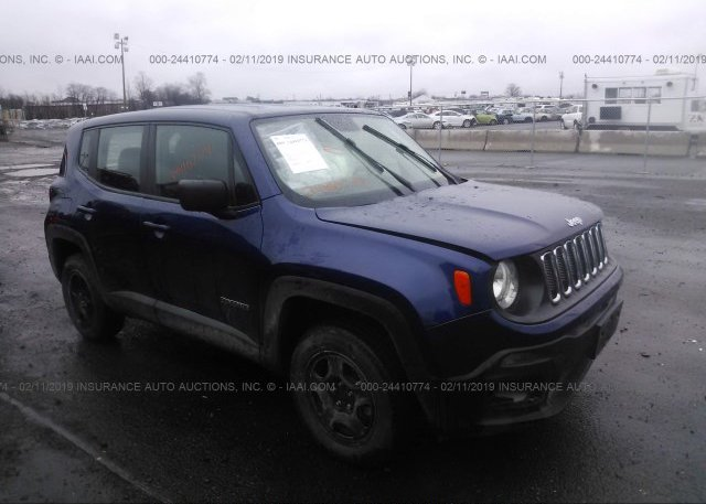 Inventory #540299857 2017 JEEP RENEGADE