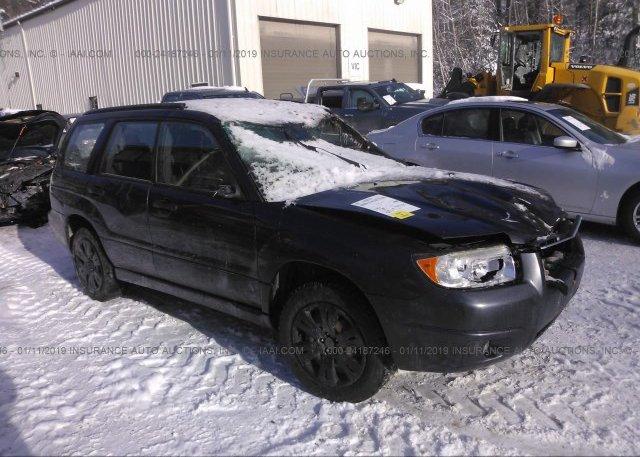 Inventory #995742378 2008 Subaru FORESTER