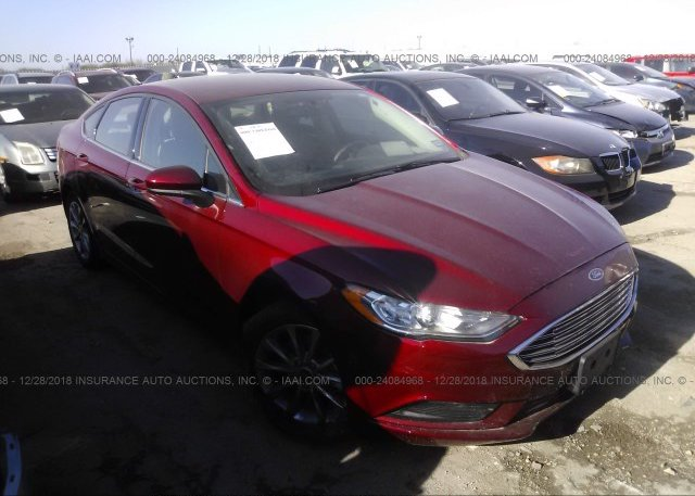 Inventory #853970616 2017 FORD FUSION