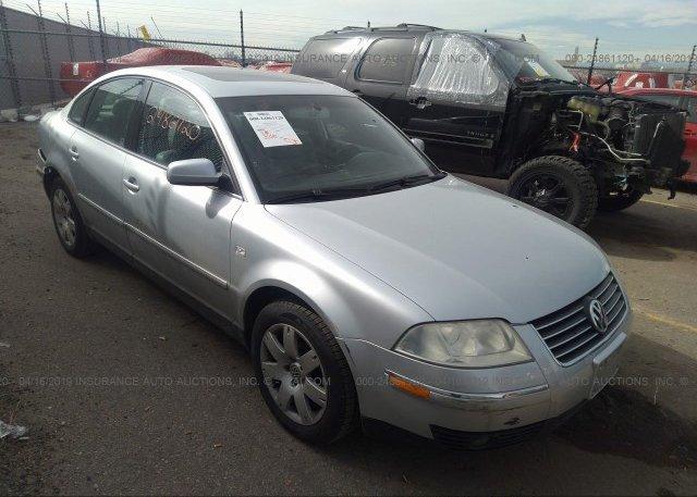 Inventory #142450261 2003 Volkswagen PASSAT