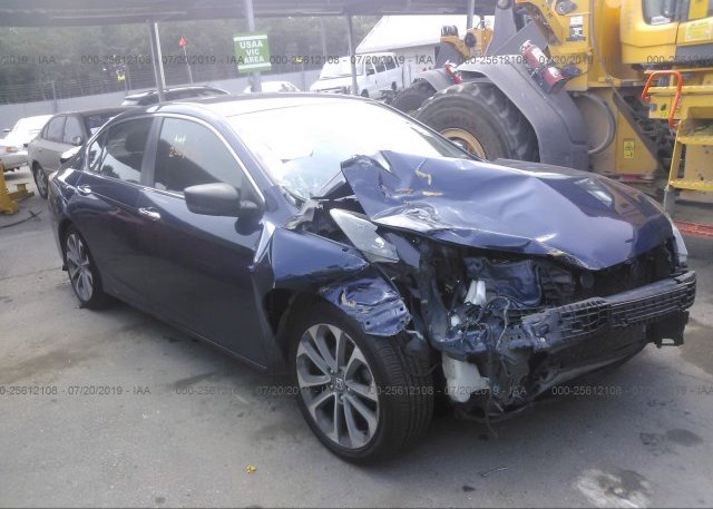 Inventory #886021195 2014 Honda ACCORD