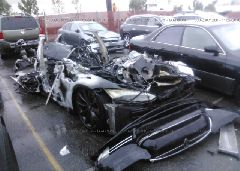 2013 Tesla MODEL S - 5YJSA1CP5DFP05436 Left View