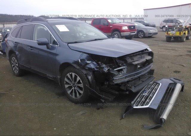 Inventory #824981260 2017 Subaru OUTBACK