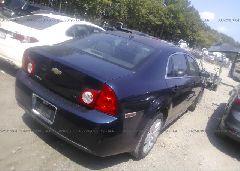 2008 Chevrolet MALIBU - 1G1ZG57N184277125 rear view