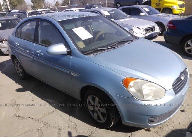 Inventory #128585301 2007 Hyundai ACCENT