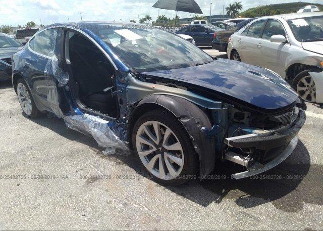 Inventory #959579880 2018 Tesla MODEL 3