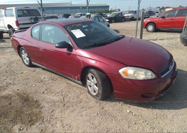 Inventory #247454795 2006 Chevrolet MONTE CARLO