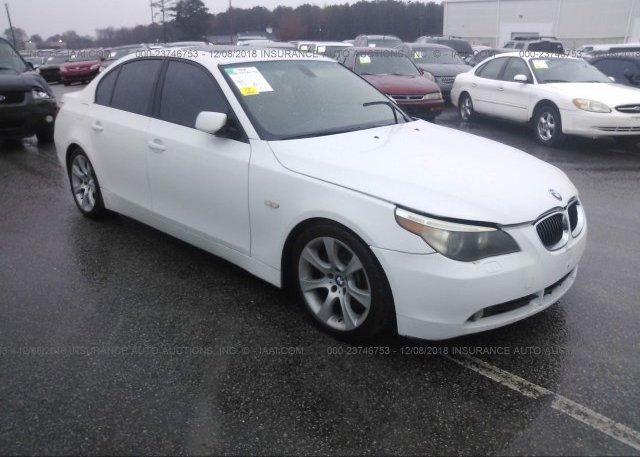 Inventory #894514101 2004 BMW 545