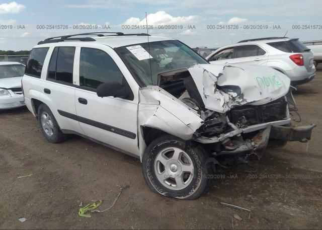 Inventory #844492553 2003 Chevrolet TRAILBLAZER