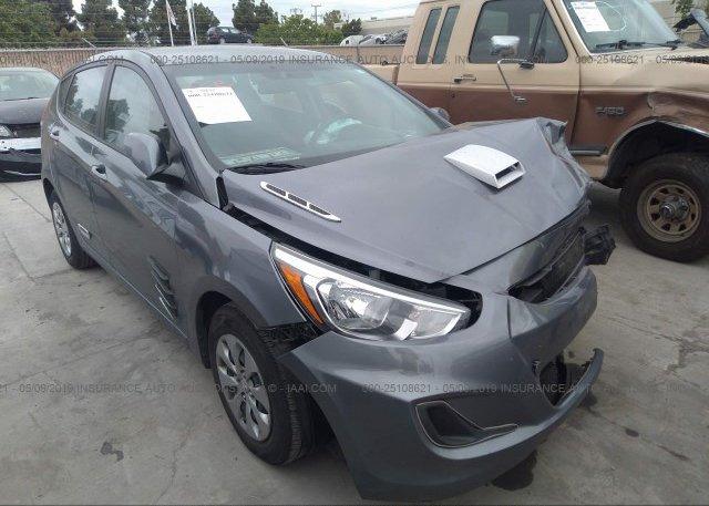 Inventory #752562151 2016 Hyundai ACCENT