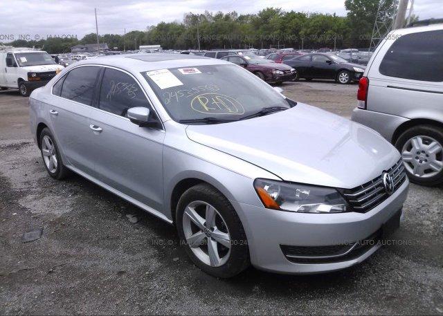 Inventory #697815533 2013 Volkswagen PASSAT