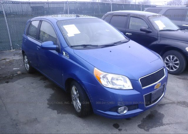 Kl1tg6de0ab006766 Salvage Blue Chevrolet Aveo At Vermilion Oh On
