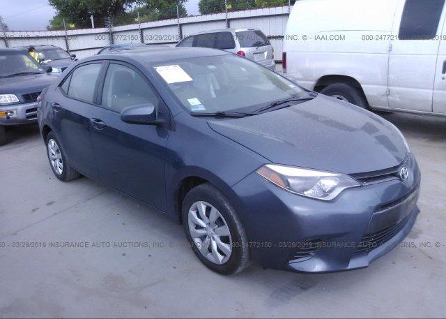 Inventory #369426011 2015 Toyota COROLLA