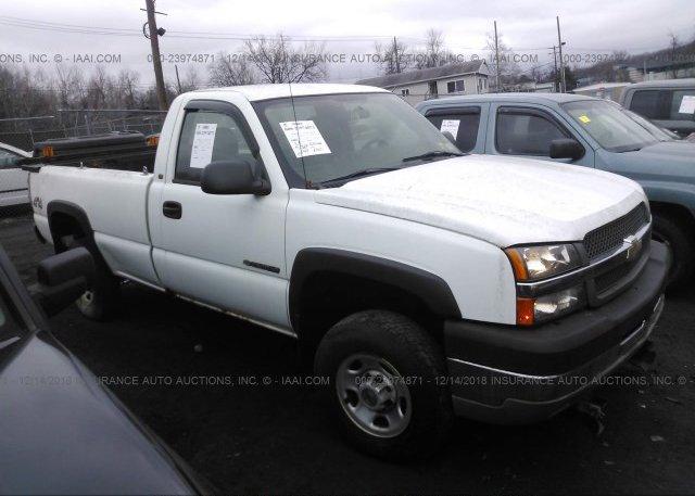 Inventory #459760787 2004 Chevrolet SILVERADO