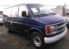 2001 Chevrolet EXPRESS G2500