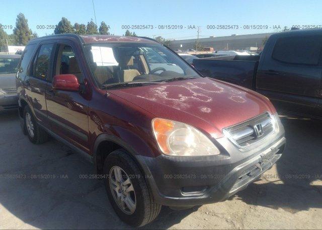 Inventory #619764646 2003 Honda CR-V