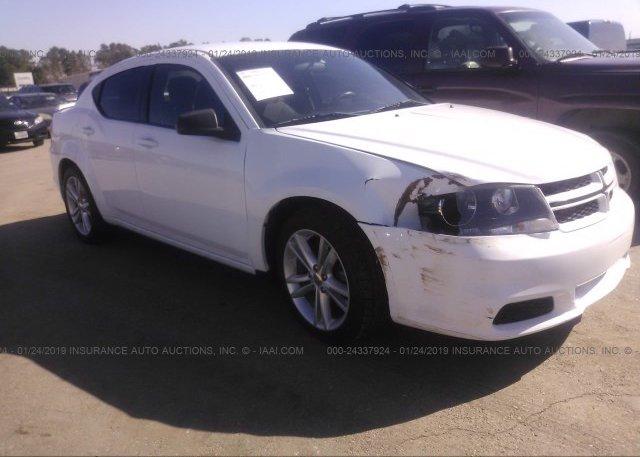 Inventory #919752789 2014 Dodge AVENGER