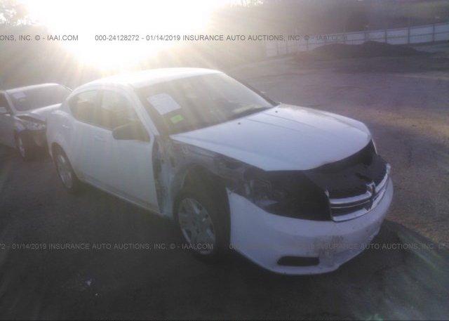 Inventory #800854660 2011 Dodge AVENGER