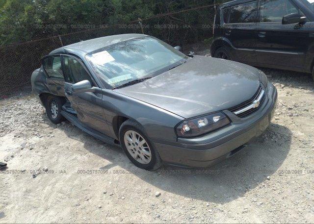 Inventory #900757196 2005 Chevrolet IMPALA