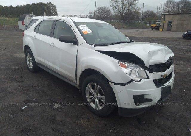 Inventory #745650027 2013 Chevrolet EQUINOX