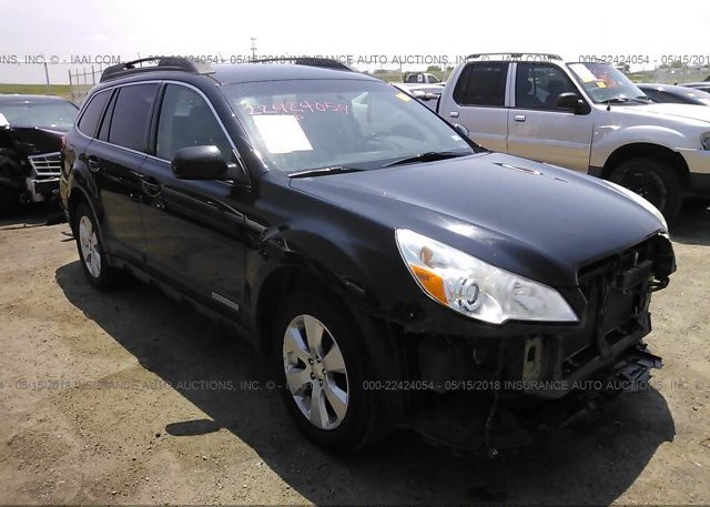 4s4brbjc3a3346347 Salvage Certificate Black Subaru Outback At Los