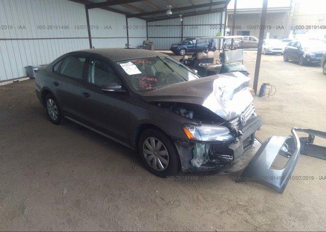 Inventory #734308441 2013 Volkswagen PASSAT