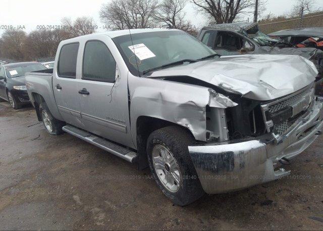 Inventory #637228054 2012 Chevrolet SILVERADO