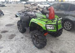 2014 ARCTIC CAT MUDPRO 700 - 4UF14ATV4ET209715 Left View