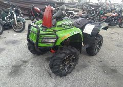 2014 ARCTIC CAT MUDPRO 700 - 4UF14ATV4ET209715 Right View