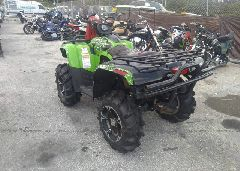 2014 ARCTIC CAT MUDPRO 700 - 4UF14ATV4ET209715 [Angle] View