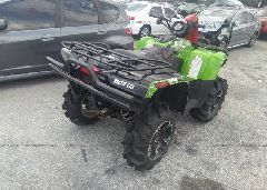 2014 ARCTIC CAT MUDPRO 700 - 4UF14ATV4ET209715 rear view