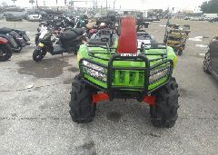 2014 ARCTIC CAT MUDPRO 700 - 4UF14ATV4ET209715 close up View