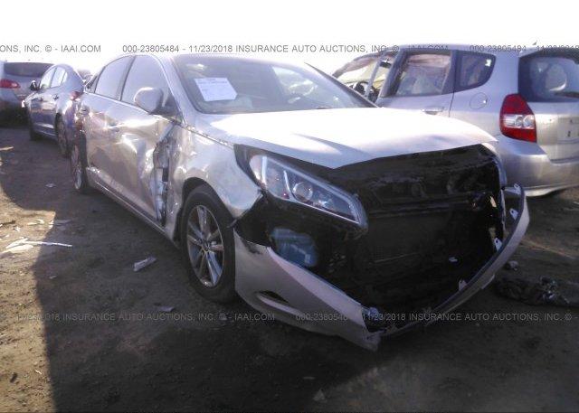 Inventory #733240094 2015 Hyundai SONATA
