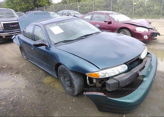 Inventory #800734048 2002 Oldsmobile ALERO