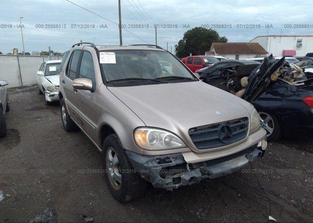 Inventory #210706514 2002 Mercedes-benz ML