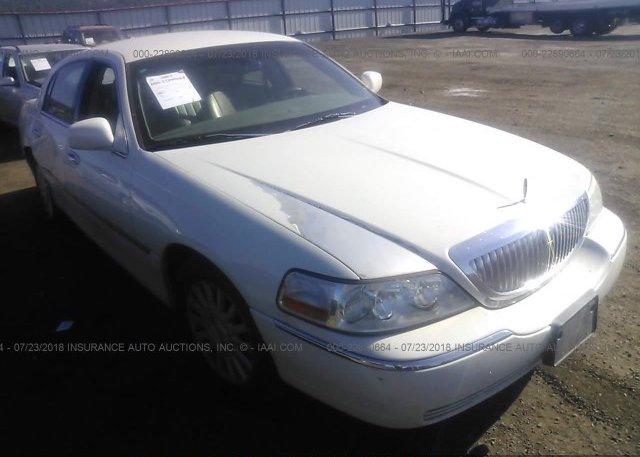 1lnhm81w23y674578 Bill Of Sale White Lincoln Town Car At Spokane
