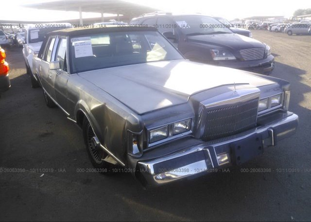 Inventory #923859781 1988 Lincoln TOWN CAR
