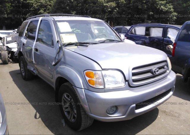 Inventory #801171754 2004 Toyota SEQUOIA