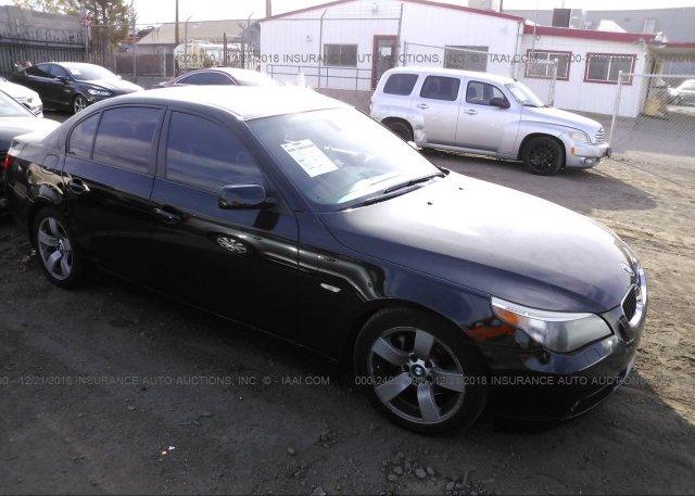 Inventory #677047501 2007 BMW 525
