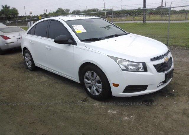 Inventory #492056022 2012 Chevrolet CRUZE