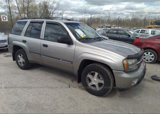 Inventory #847462058 2002 Chevrolet TRAILBLAZER