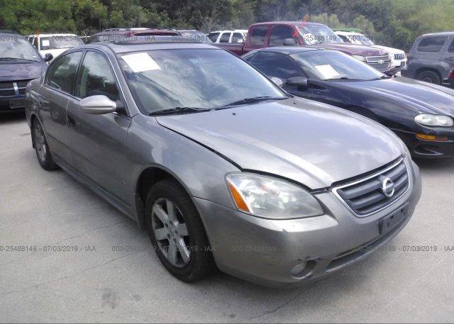 Inventory #542741316 2003 Nissan ALTIMA
