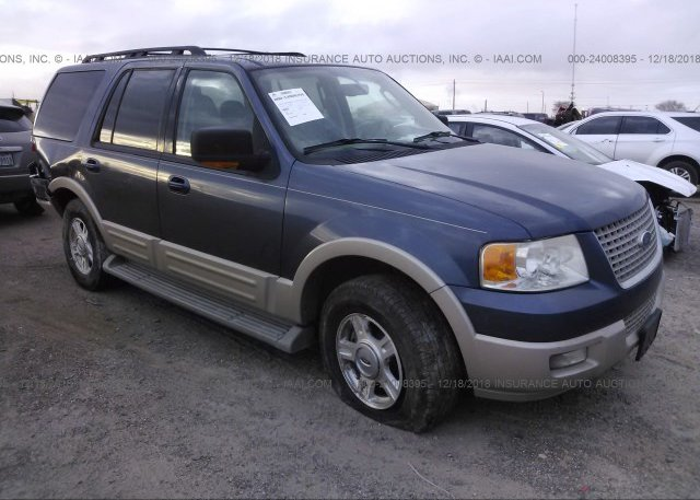 1fmfu17526la30979 Salvage Title Blue Ford Expedition At