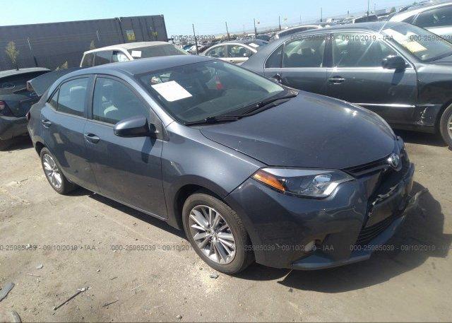 Inventory #995790700 2015 Toyota COROLLA