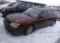 2003 Subaru LEGACY - 4S3BE635537208326 Right View