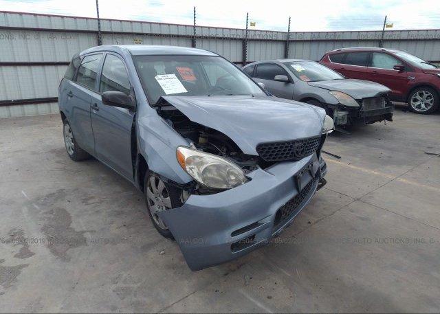 Inventory #963373742 2004 Toyota COROLLA MATRIX